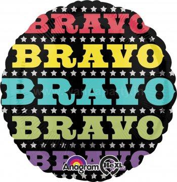 """Bravo Balloons 18"""" S40-0"""
