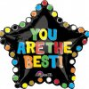 "You Are The Best Star Balloons XL 30"" P35-0"