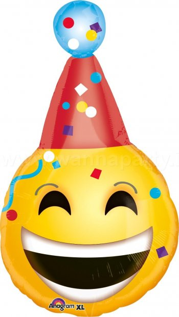 "Birthday Emotions Balloons 18"" S55-0"