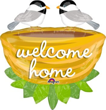 "Welcome Home Nest Balloons 32"" P35-0"