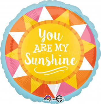 "You Are My SunShine Balloons 18""-0"