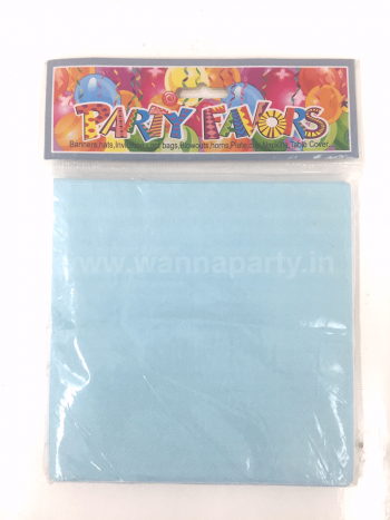 Blue Paper Napkins - 20PC-0