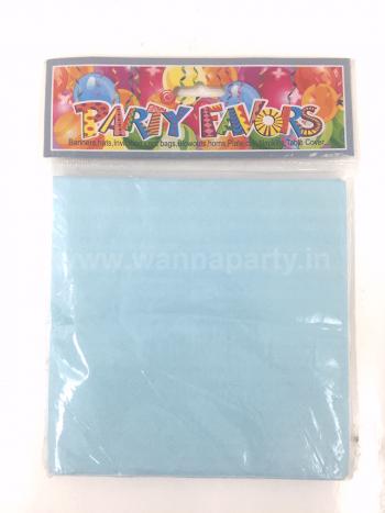 Blue Paper Napkins - 20PC-0
