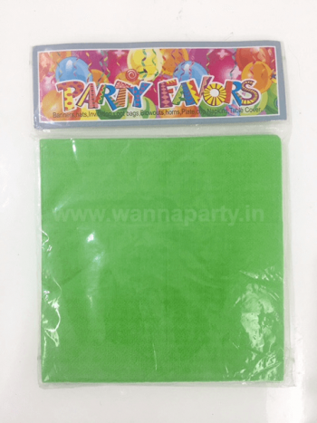 Green Paper Napkins - 20PC-0
