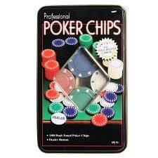 Poker Chips - 100PC-0