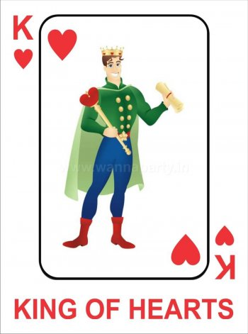 King of Hearts Photo Prop-0