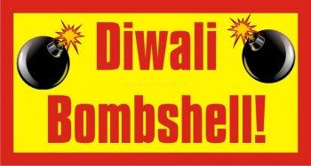 Diwali Bombshell Photo Prop-0