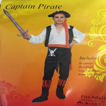 Adult Rebel Pirate of the Sea Costume-0
