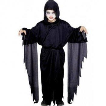 Screamer Ghost Kids Costume - S - M - L-0