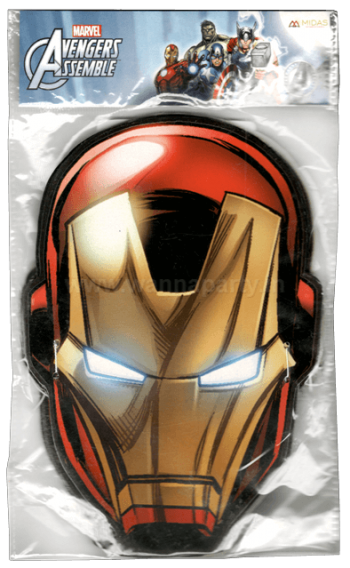 Ironman Face Masks - 10PC-0