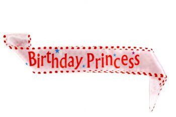 Birthday Princess Kids Sash-0