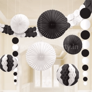 Black & White Decoration Kit-0