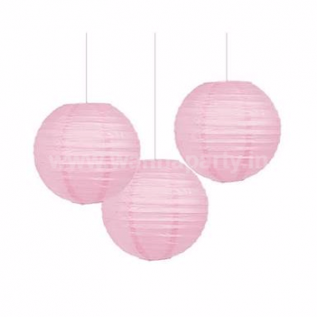 "Pink Lanterns Small 9"" - 1PC-0"