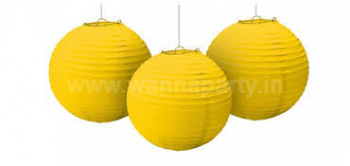 """Yellow Lanterns Small 9"""" - 1PC-0"""