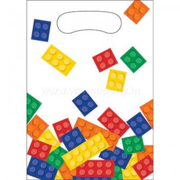 Lego Block Party Loot Bags - 8PC-0