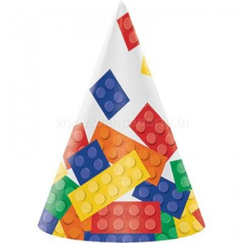 Lego Block Party Kids Hats - 8PC-0