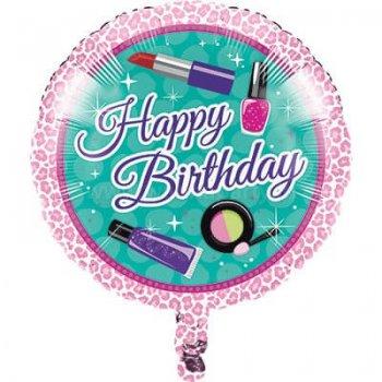 "Glitzy Girl Foil Balloons 18""-0"