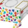 """Kids Activity Art Attack Paper Tablecover 54x96""""-0"""
