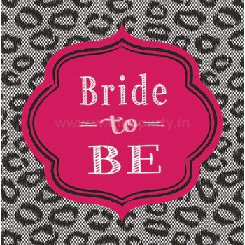 Bridal Bash Lunch Napkins - 16PC-0