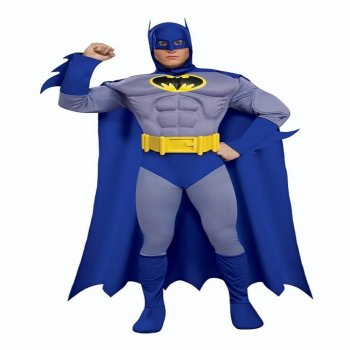 Deluxe Muscle Chest Batman Adult Costume-0