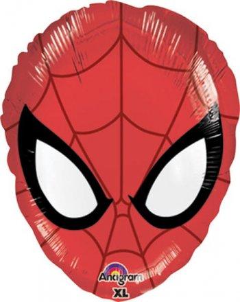 "Spiderman Jr. Shape Balloons 18""-0"