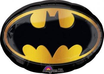 """Batman Emblem Balloons 27""""-0"""