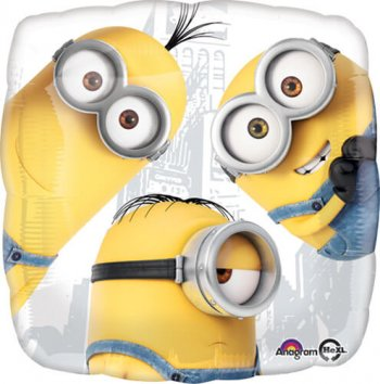 "Despicable Me Minions Group 18""-0"