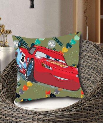 Disney Cars Mcqueen Assorted Cushion Cover w/Cushion (40CM X 40CM)-0