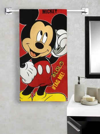 Mickey Mouse Bath Towel-0