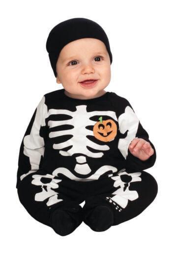 Skeleton Infant Costume-0