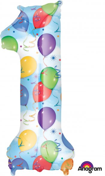 Large Shape Balloons & Streamers P50-0