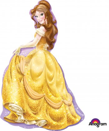 Princess Belle XL Balloons P38-0