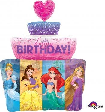 Princess Dream Big Cake Super Shape Balloons P38-0