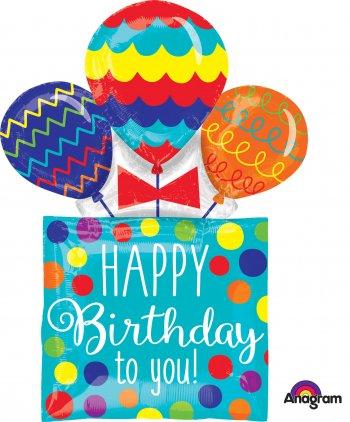 HBD Presents & Balloons P38-0