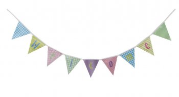 Multicolor Welcome Banner - 6FT-0