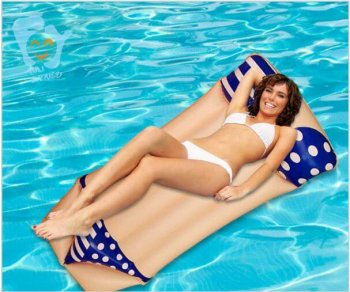 Bikini Inflatable Pool Float - 6FT X 3FT-0