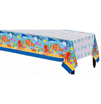 "Underwater Theme Table cover 54"" x 96""-0"
