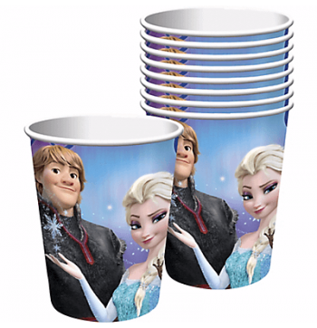 Frozen 9OZ Cups - 8PC-0