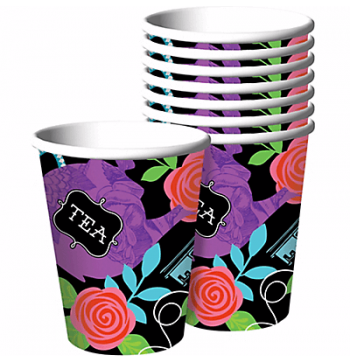 Wonderland Tea Party Cups - 8PC-0