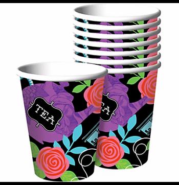 Wonderland Tea Party Cups - 8PC-0
