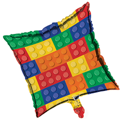 "Lego Block Party Foil Balloons 18""-0"
