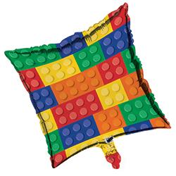 "Lego Block Party Foil Balloons 18""-0"