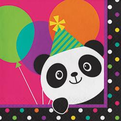 Panda-Monium Lunch Napkins - 16PC-0