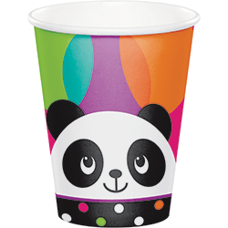 Panda-Monium Paper Cupz 260ML - 8PC-0