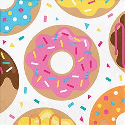 Donut Time Paper Napkins - 16PC-0