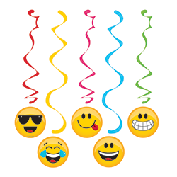 Emojies Danglers - 5PC-0