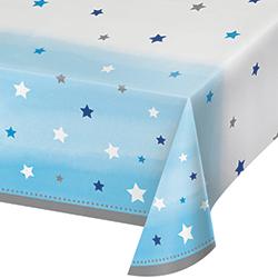 """Twinkle Twinkle Little Star Boy Tablecover - 54 x102""""-0"""