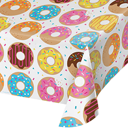 "Donut Time Pl. Tablecover 54 x 102""-0"
