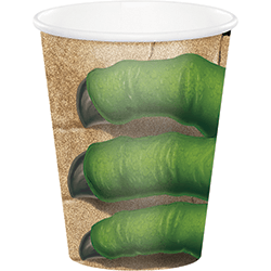 Dinosaur Blast Paper Cups 260ML - 8PC-0
