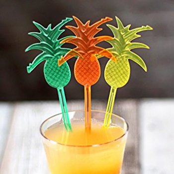Pineapple Shaped Stirrers - 12PC-0